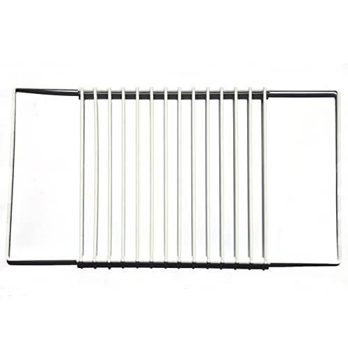 First4Spares verstellbar mit Regal mit Schraube Fix ausziehbar Arme für alle Marken & Modelle von Kühlschrank/Kühlschrank Gefrierschrank, Weiß