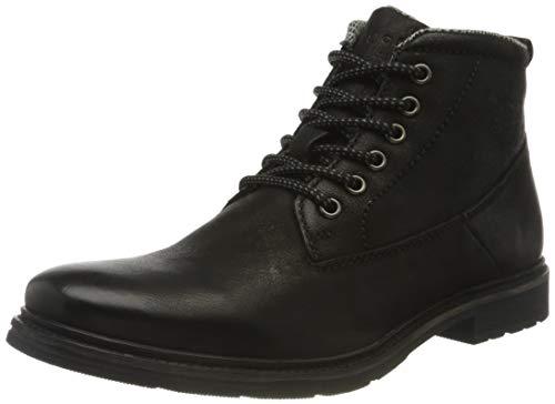 bugatti Herren 3216223B1200-1000 Mode-Stiefel, schwarz,46 EU