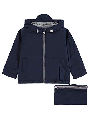 Bellybutton mother nature & me Unisex Baby 1/1 Arm m. Kapuze Jacke, Blau (Navy Blazer|Blue 3105), (Herstellergröße: 86)