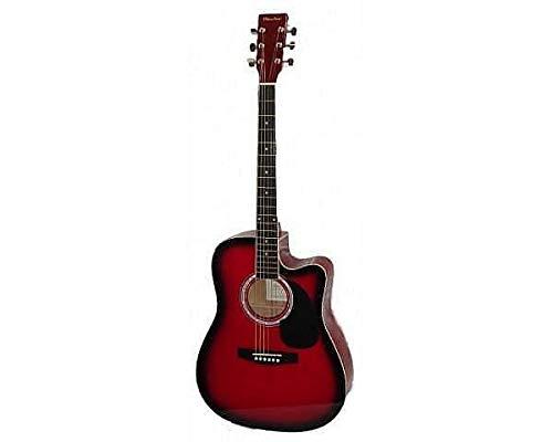 Olveira Chitarra acustica folk a spalla mancante - colore Red (rosso) - ag300c