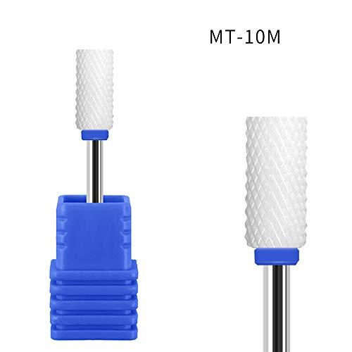 3/32 Ceramic Nail Drill Bits Set Diamond Carbide Nail Drill Bit for Remove Acrylic Gel Nails Cuticle Manicure Pedicure Polishing, 1Pack