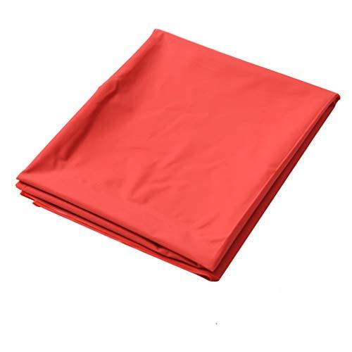 Gretrue PVC Impermeabile Adulti per Letti e Lenzuola, Coppia Giochi Impermeabile Massaggio copriletto liberatore Decorazione Affascinante -Rosso 2,2 * 1,3 m