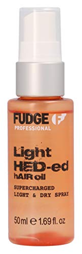 Fudge Light Hed-ed Hair Oil 50 ml Bekämpft Frizz- und Feuchtigkeitsprobleme