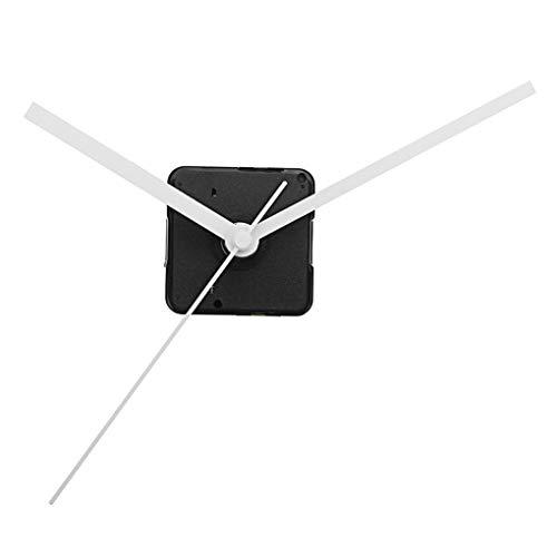 Yongse 20 millimetri Albero Fai da Te Bianco Mani al Quarzo Movimento Meccanismo Silenzioso Orologio da Parete Parti di Riparazione
