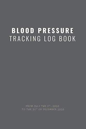 BLOOD PRESSURE TRACKING LOG BOOK: Daily Personal dairy / journal to record and track  your blood pressure (Systolic / Diastolic) and heart rate (Pulse).