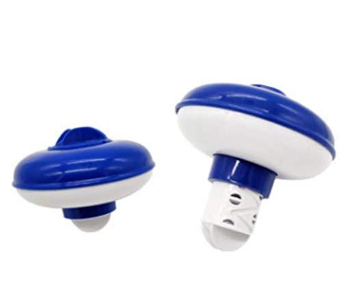 Dispensador Cloro Flotante, Cloro Flotante para Piscinas al Aire Libre, para Piscina Parque Acuático SPA Kits de Mantenimiento(5 Pulgadas)