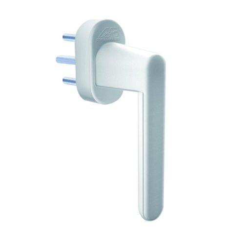 Schellenberg 46501 Sicherheits-Alarmgriff für Fenster, Balkon- und Terassentüren, 37 mm Stiftlänge, 115 dB Alarm für 180 Sekunden