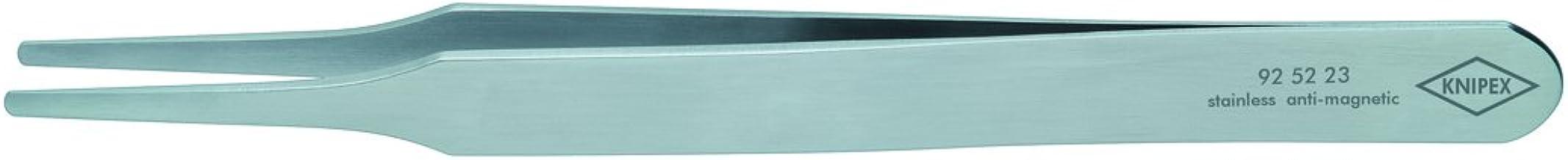 KNIPEX 92 52 23 Pinza de precisi/ón forma redonda fina 120 mm