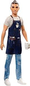 Ken Barista Doll, Broad, Wearing Café Apron