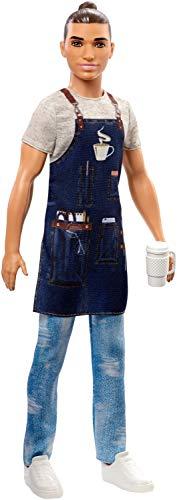 Barbie FXP05 FXP03 Ken Career Puppe Barista