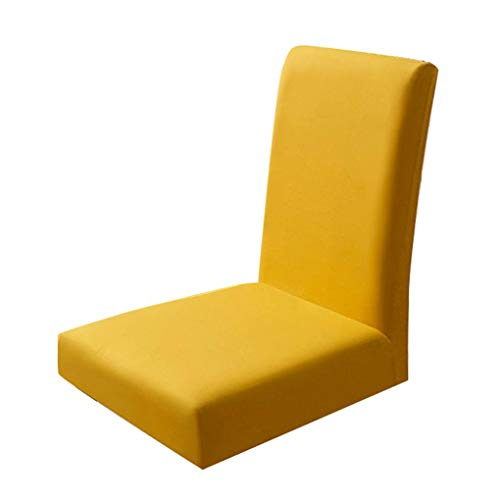 Regard L Elastic Stuhl Abnehmbarer Staubdicht Esszimmer Sitzschein Elastic Stuhl Staubdichtes Sitz Solid Color