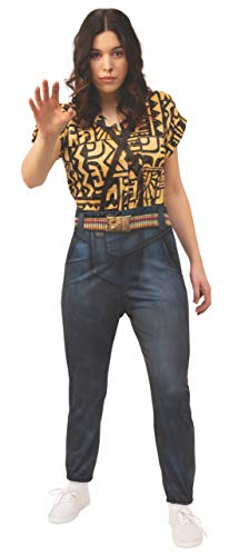 Women's Stranger Things Eleven's Battle Look Costume Jumpsuit