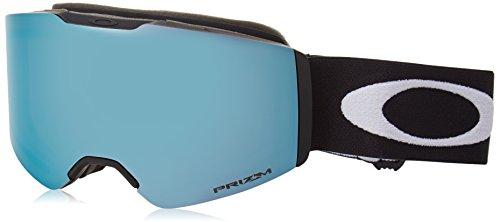 Oakley Fall Line Masque de Ski Mixte Adulte, Matte Black/Prizm Sapphire, 99