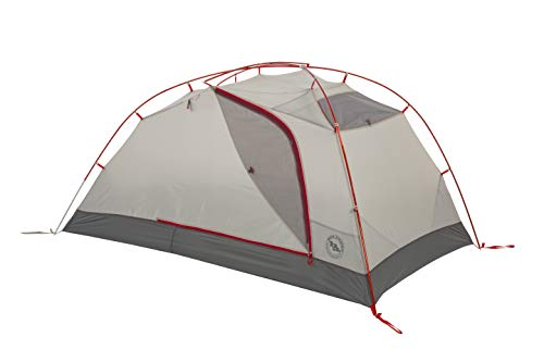 Big Agnes Copper Spur HV3 Expedition Tent, Red, 3 Person
