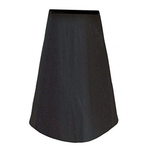 Liineparalle afdekhoes voor tuinoven, opvouwbaar, stofdicht, regenbescherming, zwart, voor veranda outdoor zwart