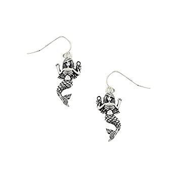 Liavy's Mermaid Princess Fashionable Earrings - Epoxy - Fish Hook - Unique Gift and Souvenir