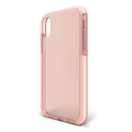 BodyGuardz - Ace Pro Case for iPhone Xs Max, Extreme Impact and Scratch Protection (Pink/White)