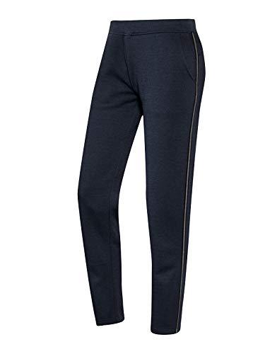 Joy Sportswear Melina Trainingshose für Damen in angenehmer Passform, Lange Sporthose aus Baumwollmischung für Fitness, Gym oder Freizeitbeschäftigungen Kurzgröße, 18, Night