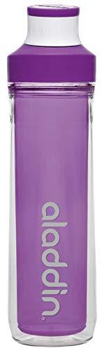 Aladdin Hydration Doppelwandige Trinkflasche, Adultes Hydratation Active Gourde, Violet, Double paroi 0,5 pour Hommes, 0.5 l