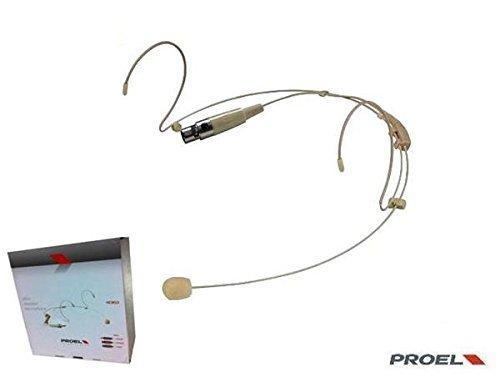 Proel HCM23 - Micrófono de diadema