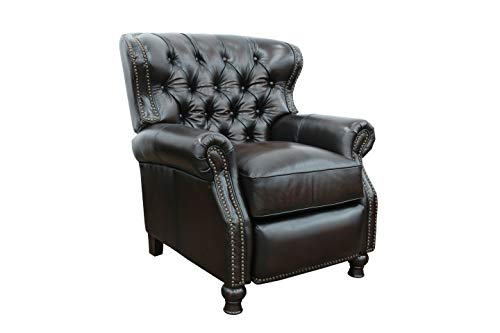 Presidential ll Top Grain Leather Chair Manual Recliner by Barcalounger