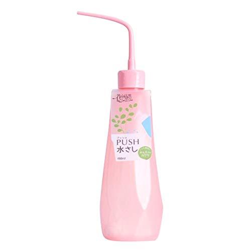 Xuniu 480ML Plastic Bend Mond Squeeze Watering Fles Voor Plant Bloem Succulent (Random Delivery)