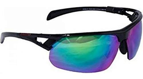 Rawlings 28 Baseball Sunglasses - Black/Green RV - Adult