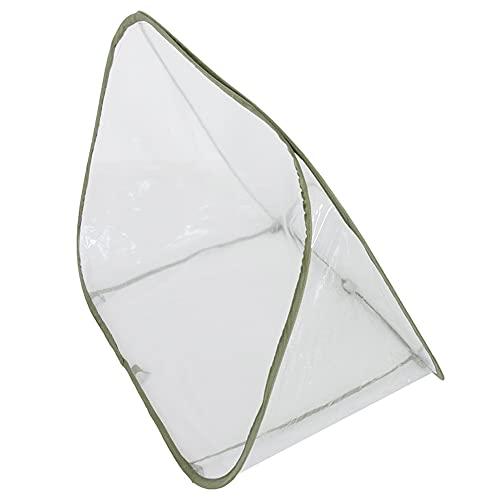 QYLJZB Invernadero plegable para invernadero, invernadero, invernadero portátil, para interiores y exteriores, protección contra heladas, cubierta cálida