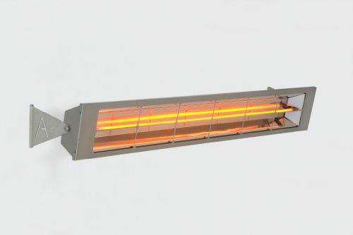Alfresco Heizstrahler - ALF40 156cm lang, mittelwelliger elektrischer Infrarot- Heizstrahler mit 4 Kilowatt für Aussenbereich