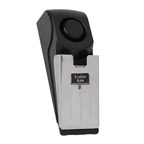 Tomanbery Alarma de Seguridad Alerta de tamaño pequeño Antirrobo Inalámbrico Parada de Puerta Antirrobo Inteligente para el hogar
