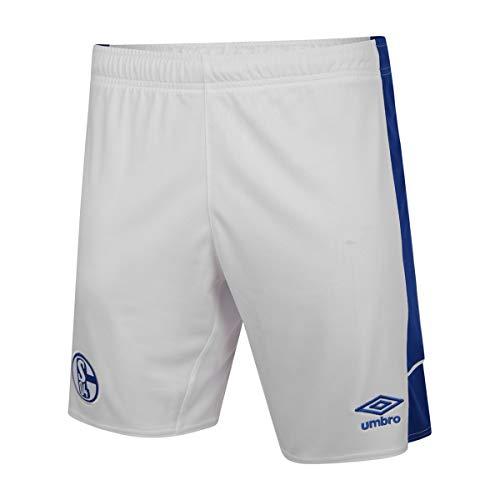 UMBRO FC Schalke 04 - Pantaloncini in casa, taglia XXL