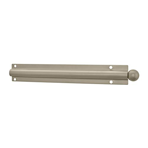 Rev-A-Shelf 12 Inch Heavy-Gauge Metal Closet Valet Clothes Rod, Satin Nickel