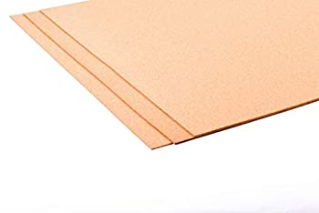 Fine Grain Cork Roll Sheet 24in X 36in X 1/16in - 3 Pack