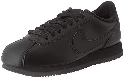 Nike Cortez Basic Leather, Scarpe da Corsa Uomo, Nero (Black/Black/Anthracite 001), 42.5 EU