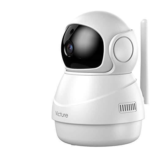 [2020 Versión] Victure 1080P Cámara Vigilancia WiFi Interior, Visión Nocturna, Detección de Movimiento y Sonido, Audio de 2 Vías
