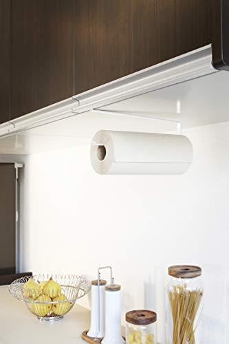 山崎実業戸棚下キッチンペーパーホルダーホワイト約W1.5×D26×H9.5cmタワー7115