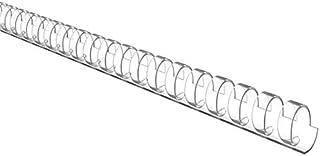 علبة مشط حلزوني للملازم، السعة 18ملم، بلاستيكA4 ، شفاف عبوة 100 حبة