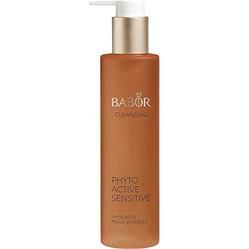 BABOR CLEANSING Phytoactive Sensitive für empfindliche Haut, Gesichtsreiniger zur Anwendung mit Hy-Öl, Mit Lindenblüten, Vegane Formel, 1 x 100 ml