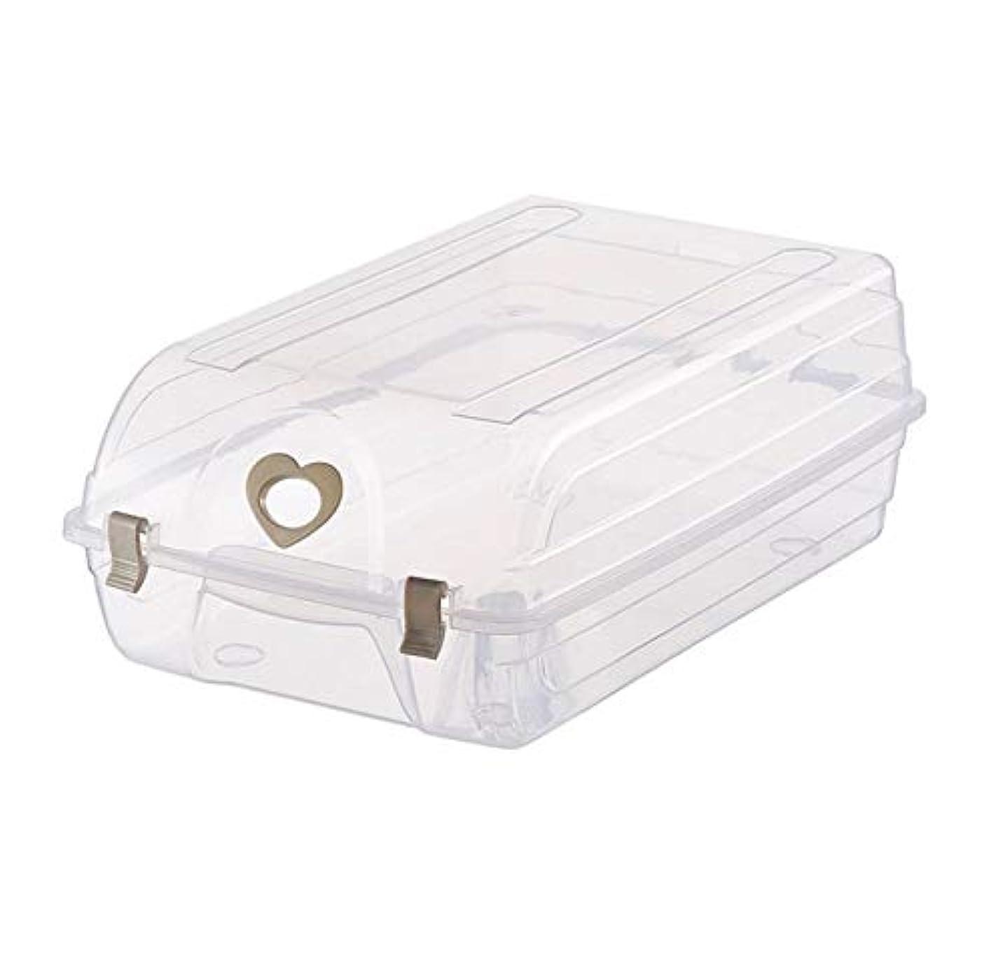 秘密の哲学的寄り添うMeet now123 靴の収納箱靴の箱プラスチックの収納箱透明なプラスチック製のブーツ収納箱シンプルな防塵の家庭用品その他の収納箱 靴箱 品質保証