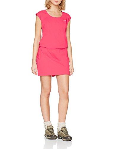 Columbia Damenkleid, Peak To Point Dress, Nylon, rot (Red Camellia), Gr. L, EL0031