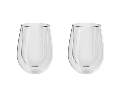 Zwilling® Sorrento Bar Doppelwandiges Glas, Weißwein, 296ml, 2-er Set