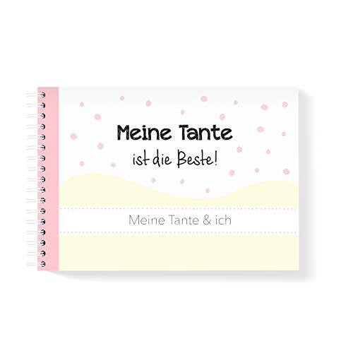 mintkind Erinnerungsbuch Meine Tante und Ich I Momente und Erinnerungen festhalten I Fotoalbum Geschenkidee DIY