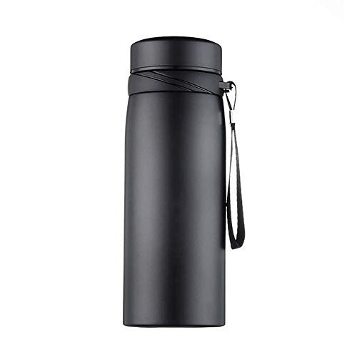 HWL Water Cup roestvrij staal, 500/650/900/1100Ml Draagbare RVS Tumbler Geïsoleerde Thermos Mok Water Fles Thermos Fles voor Office Thee Koffie Mok