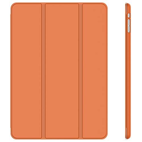 JETech Hülle Kompatibel iPad Mini 1 2 3, Schutzhülle mit Ständer Funktion & Auto Einschlafen/Aufwachen, Papaya