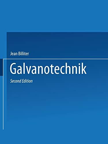 Galvanotechnik (German Edition)