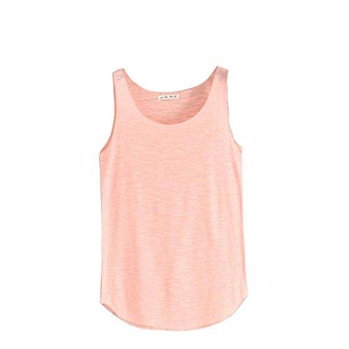 Camiseta de Tirantes para Mujer,Venmo Las Mujeres del Tanque de Verano-Cuello Redondo sin Mangas Camisetas Sueltas Chaleco