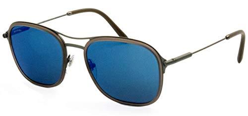 Bulgari 0BV5041 195/55 56 Gafas de sol, Gris (Matte Grey/Darkblueemirrorbluee), Unisex-Adulto