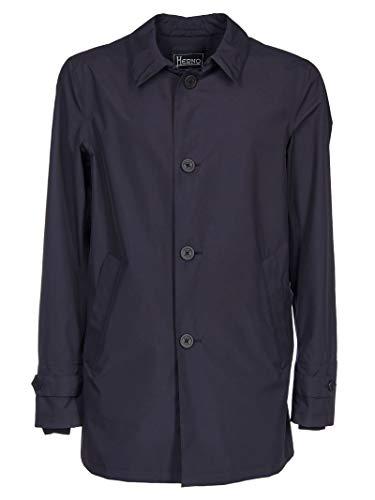 Herno Luxury Fashion Herren IM010UL111019201 Blau Mantel | Jahreszeit Permanent