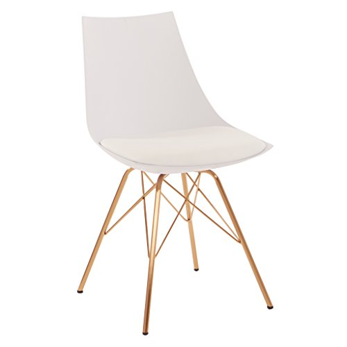 OSP Home Furnishings Oakley Mid-Century Modern Bucket Chair,...