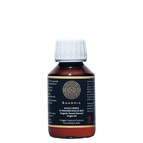 Aceite de Almendras Dulces Virgen Ecológico 100 ml - Vegetal puro y...